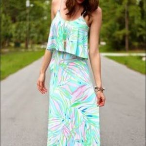 Lilly Pulitzer maxi dress SUMMER SPRING beach